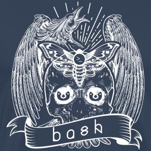 bash shell linux - Männer Premium T-Shirt