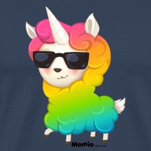 Rainbow animo - Herre premium T-shirt