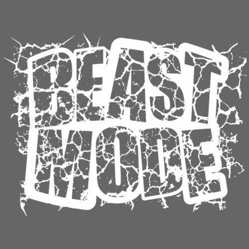 Beast mode blanco - Camiseta premium hombre