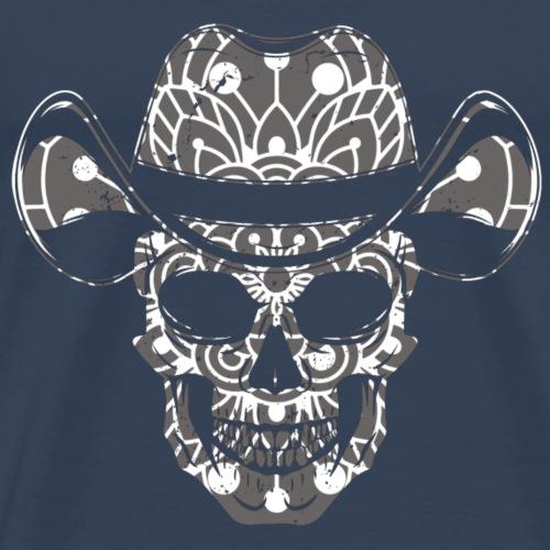 Totenkopf Western - Männer Premium T-Shirt