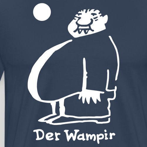 Der Wampir - Männer Premium T-Shirt