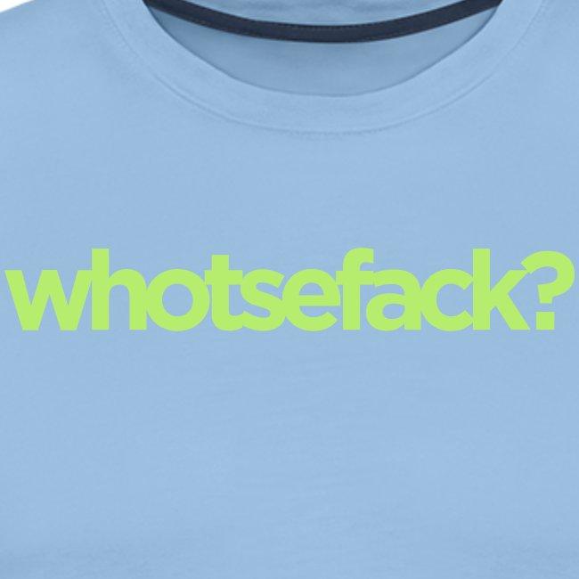 whotsefack