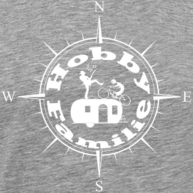 Hobbyfamilie Kompass-Logo weiss
