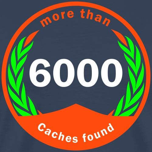 6000 founds! - Männer Premium T-Shirt