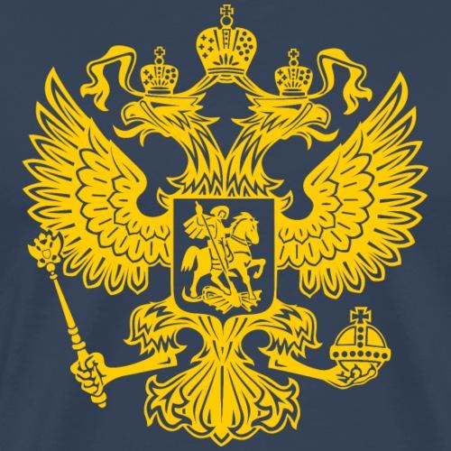 Russia Adler GOLD - Männer Premium T-Shirt