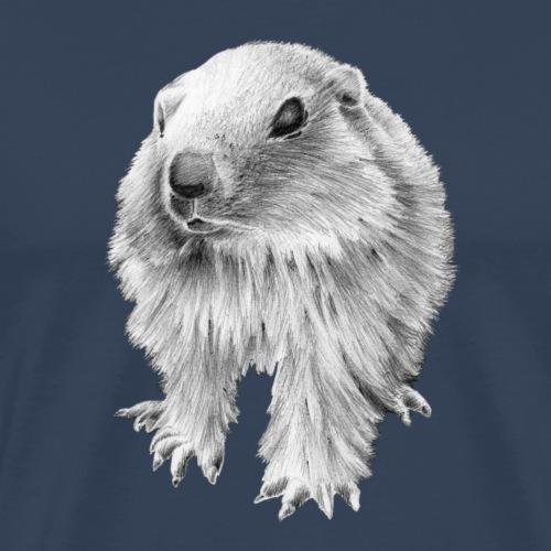 Bébé marmotton - T-shirt Premium Homme