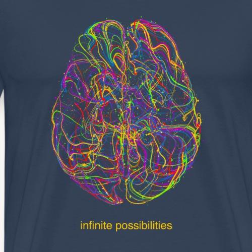Infinite possibilità - Maglietta Premium da uomo
