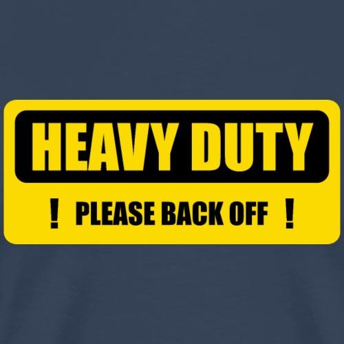 Schwerlast in Bewegung - Männer Premium T-Shirt