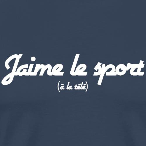 J'aime le sport - T-shirt Premium Homme