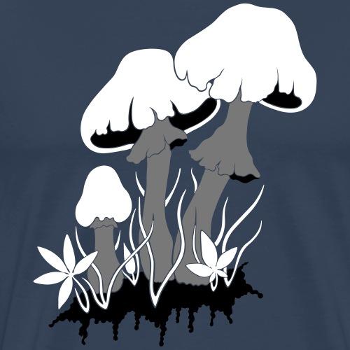 champignons - T-shirt Premium Homme