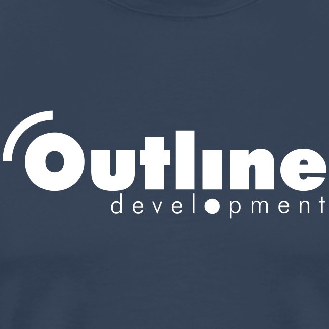 outline logo simple