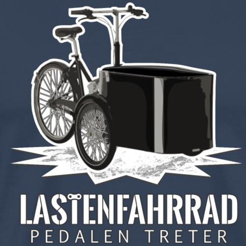 Lastenfahrrad - Männer Premium T-Shirt