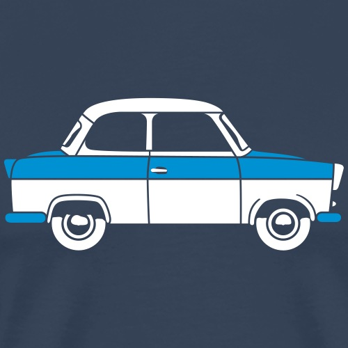 Trabant 500 Coupé 2c - Men's Premium T-Shirt