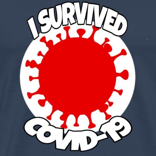 i survived covid-19 - Camiseta premium hombre