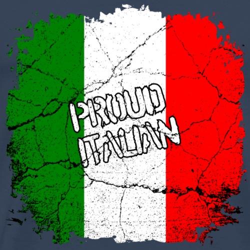 Proud Italian Stolzer Italiener Italienerin - Männer Premium T-Shirt
