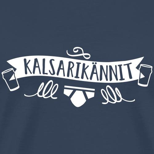 Kalsarikännit T Shirt Design - Männer Premium T-Shirt