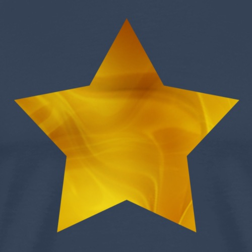 Gouden ster - Mannen Premium T-shirt