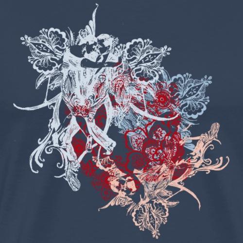 tango2018-bleu2 - Männer Premium T-Shirt