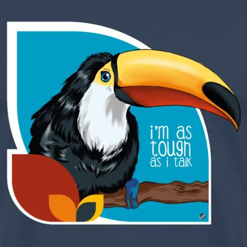 Tukan - großer Schnabel - Männer Premium T-Shirt