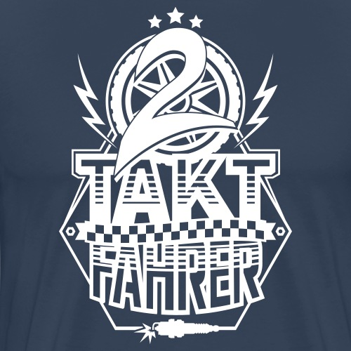 2-Takt-Fahrer / Zweitaktfahrer - Men's Premium T-Shirt