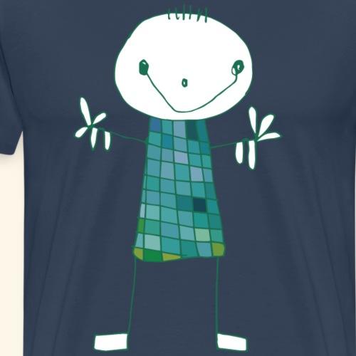 Alfred emeraude - T-shirt Premium Homme