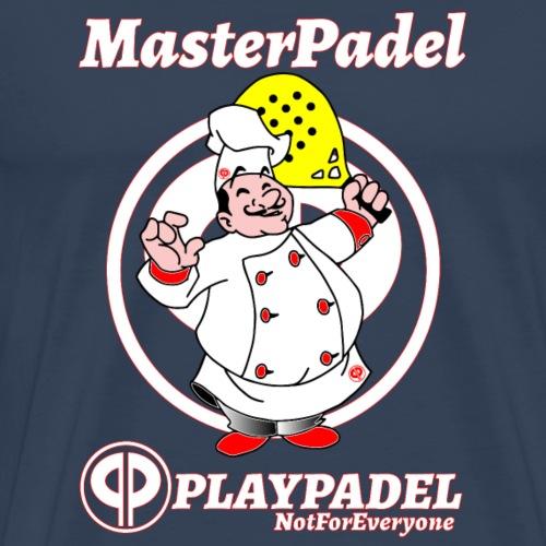 PLAYPADEL MasterPadelBianco - Maglietta Premium da uomo