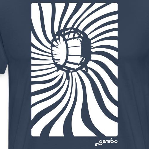 wirbel - Männer Premium T-Shirt