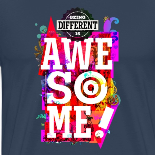 Different = Awesome - Men's Premium T-Shirt