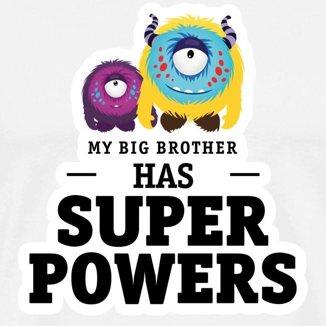 Mein Großer Bruder Hat Superkräfte Männer Premium T Shirt
