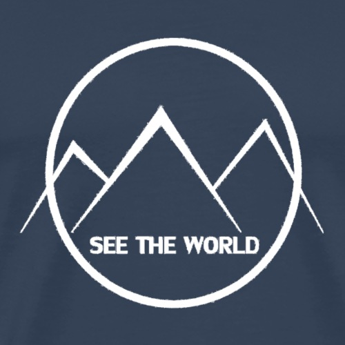 See The World knows - Men's Premium T-Shirt