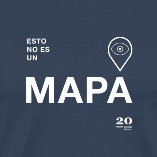 mapa - Camiseta premium hombre