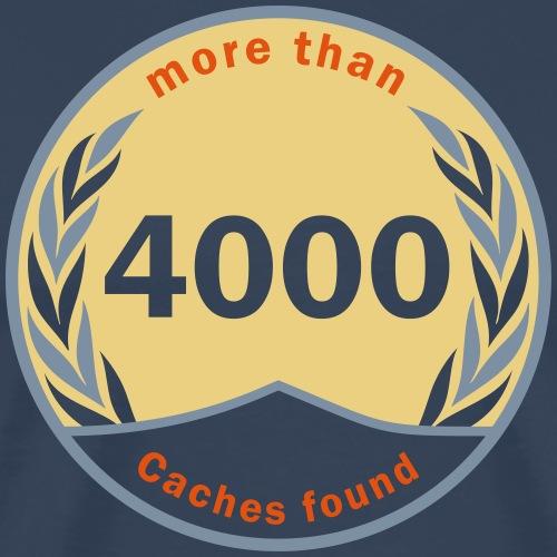4000 founds! - Männer Premium T-Shirt