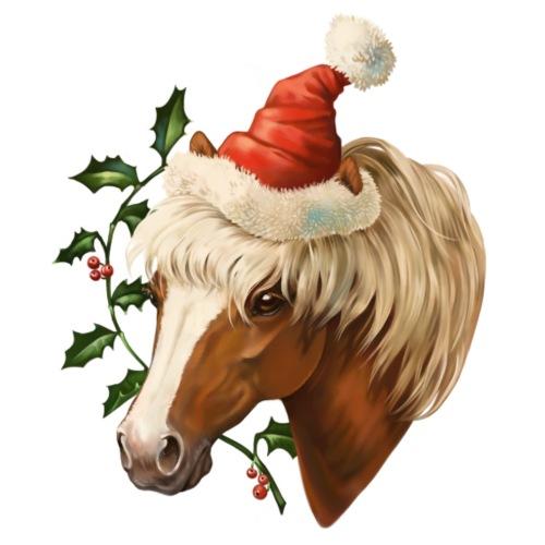 Christmas Pony - Männer Premium T-Shirt