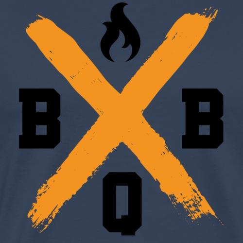 BBQ Pitmaster's Cross - Mannen Premium T-shirt
