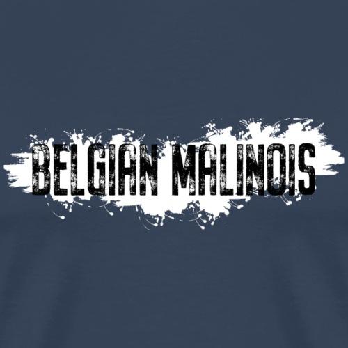 Belgian Malinois Schriftzug - Männer Premium T-Shirt