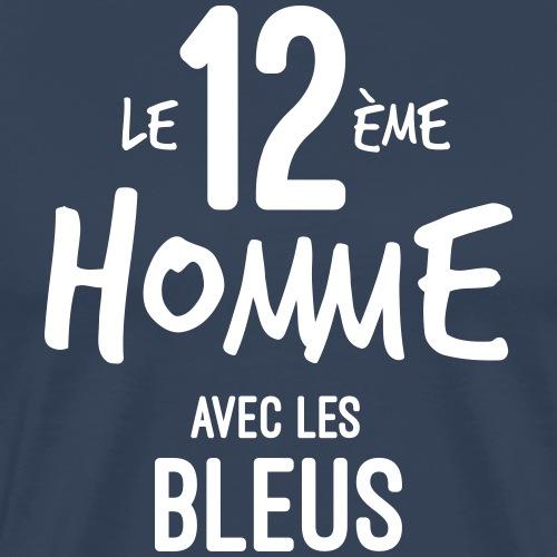 le 12eme homme avec les bleus - T-shirt Premium Homme