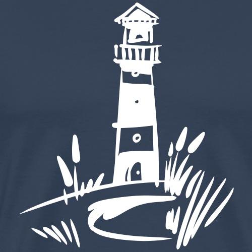Leuchtturm Design klassisch - Männer Premium T-Shirt