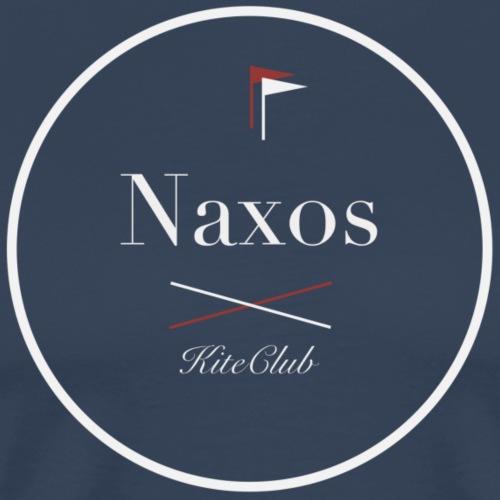 NAXOS 175x175 blanc gris - T-shirt Premium Homme