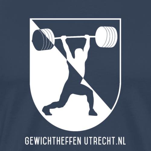 Modern Logo - Mannen Premium T-shirt