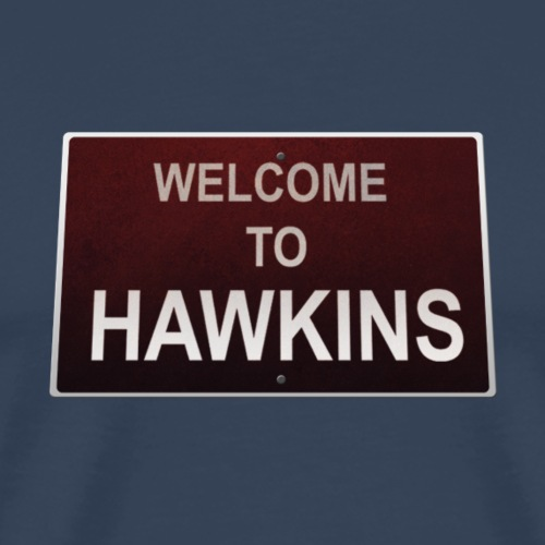 hawkins welcome - Men's Premium T-Shirt