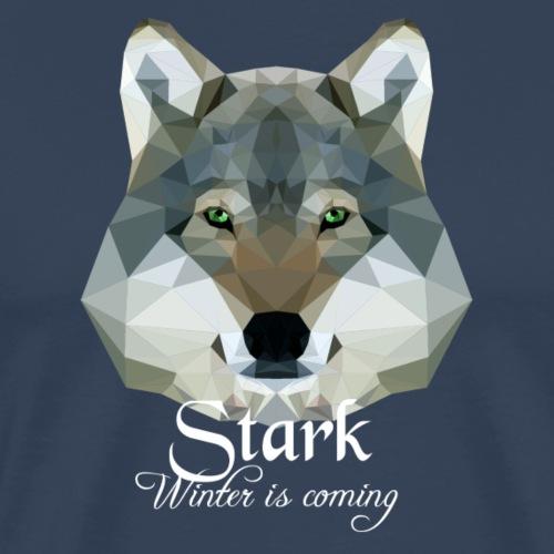 Stark wolf - Maglietta Premium da uomo
