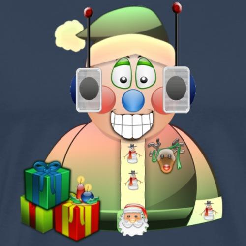 Elf Santa's Raindeer Keeper - Men's Premium T-Shirt