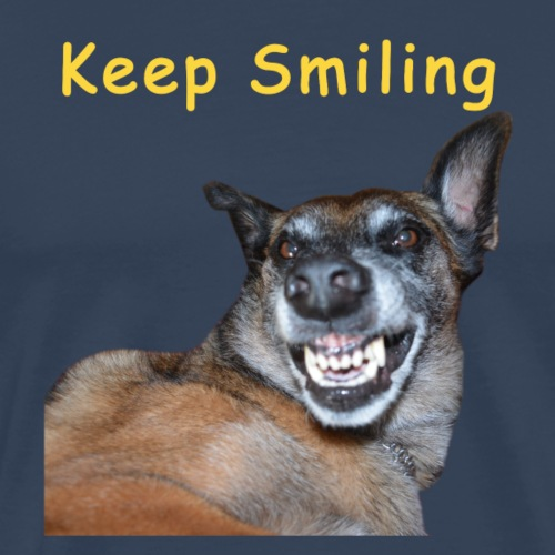 Keep Smiling - T-shirt Premium Homme