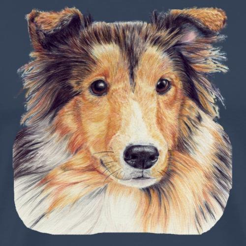 shetland Sheepdog 2 - Herre premium T-shirt