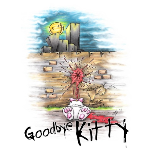 goodbye kitty - Männer Premium T-Shirt