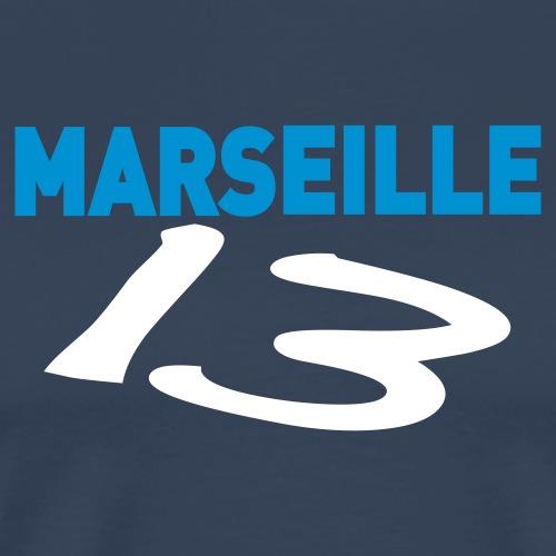 marseille_13, OM - T-shirt Premium Homme