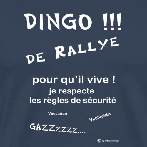 Dingo rallye pour qu il vive - T-shirt Premium Homme