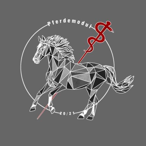 Pferdemodul grey - Männer Premium T-Shirt