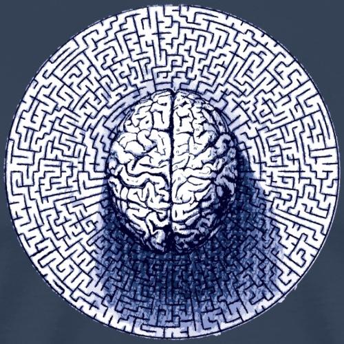 Brain Maze - T-shirt Premium Homme