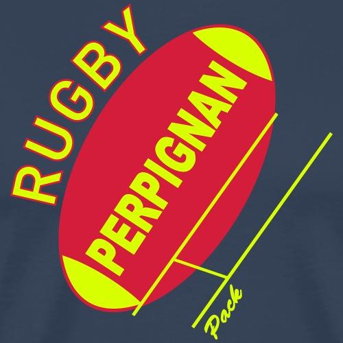 rugby perpignan - T-shirt Premium Homme